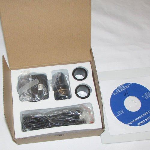 بسته بندی دوربین 10 مگاپیکسلی مخصوص انواع میکروسکوپ و استریومیکروسکوپ Industrial Digital Camera