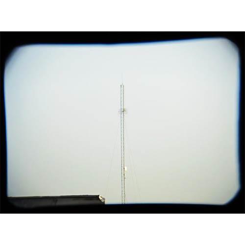 تست رویت دوربین زایس جیبی 7x17 ، دکل مخابراتی از فاصله 300 متری