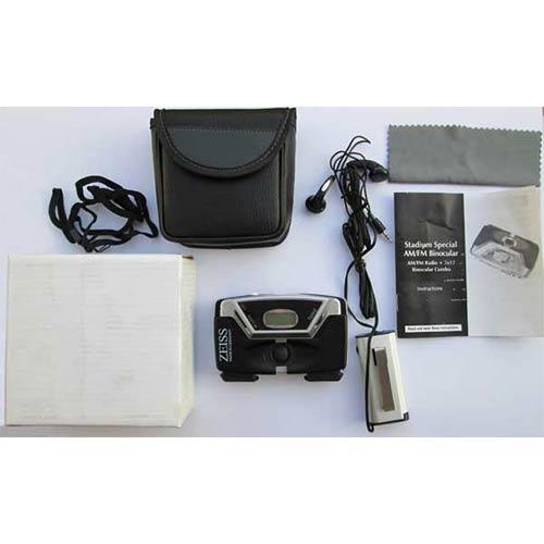 جعبه گشایی دوربین دو چشمی زایس جیبی 7x17 رادیو دار
