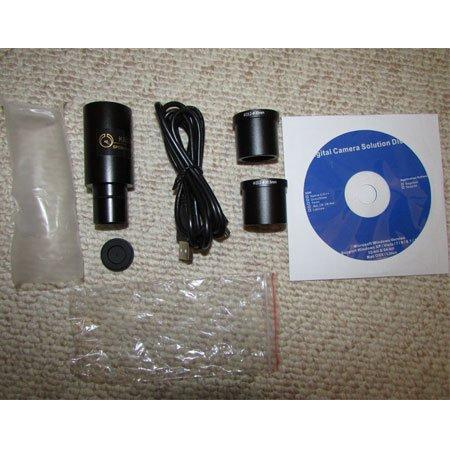 متعلقات درون پک دوربین 5 مگاپیکسلی مخصوص انواع میکروسکوپ و استریو میکروسکوپ