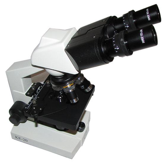میکروسکوپ 1600 برابر بیولوژی دو چشمی مدل Ke-20