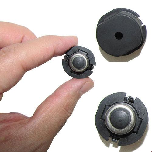 سه نمای مختلف از قفل میر گرد (قفل شاخص گرد مانند)