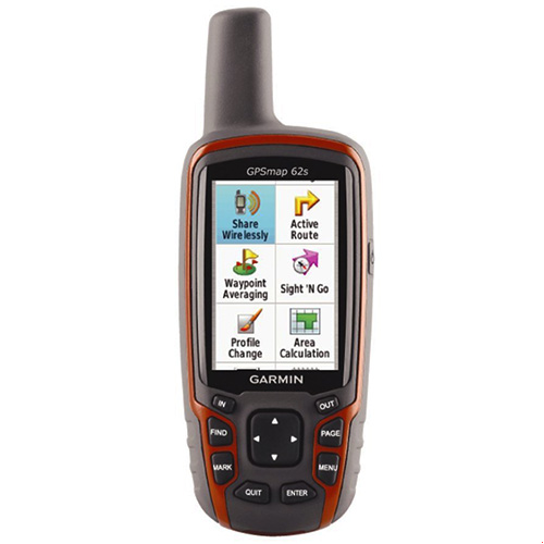 جی پی اس گارمین مدل ۶۲ اس Garmin GPSMap 62s